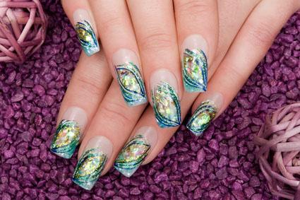 kunstfingernägel zum aufkleben